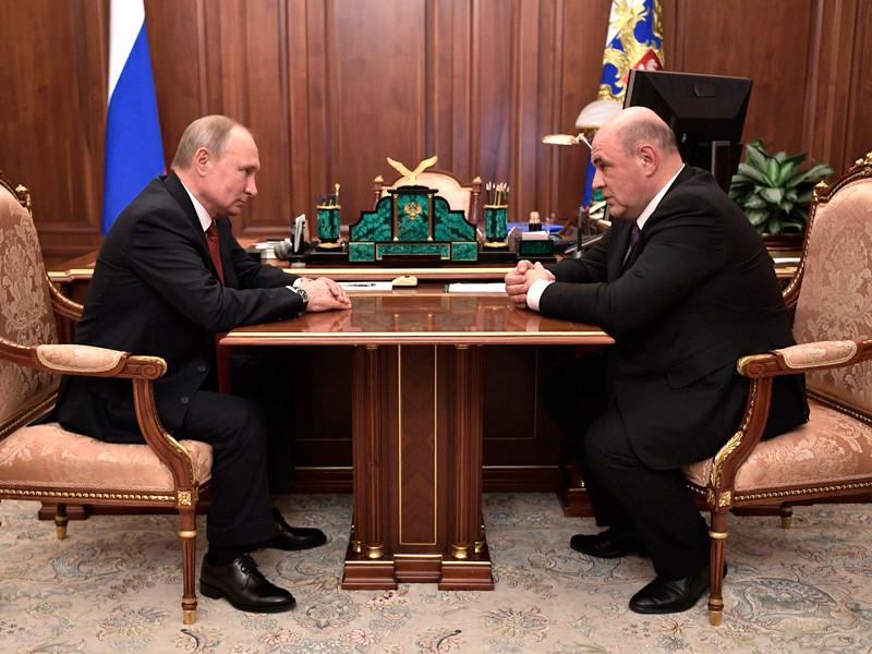 Путин внес кандидатуру главы ФНС Михаила Мишустина на должность председателя правительства