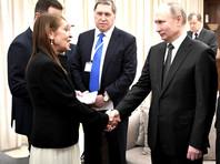 """Владимир Путин во время визита в Израиль 23 января встретился с матерью осужденной в РФ за контрабанду наркотиков израильтянки Наамы Иссахар и пообещал, что с ее дочерью """"все будет хорошо"""""""
