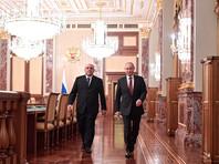 Владимир Путин провел встречу с членами правительства РФ