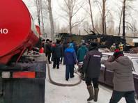 К борьбе с огнем привлекались 19 человек и шесть единиц техники