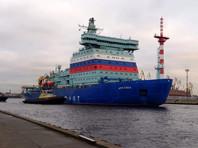 """Один из двигателей строящегося ледокола """"Арктика"""" признан не подлежащим восстановлению после поломки"""