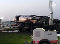 Superjet, сгоревший вШереметьево вместе с пассажирами впрошлом году, так инеубрали изаэропорта