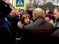 """""""Не отчаивайтесь, ситуация меняется"""": Путин обнадежил петербурженку, недовольную заработком в 10 тыс. рублей, половина которого уходит на квартплату"""