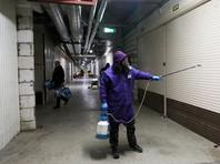 """Меры безопасности против распространения коронавируса в торговом комплексе """"Садовод"""""""
