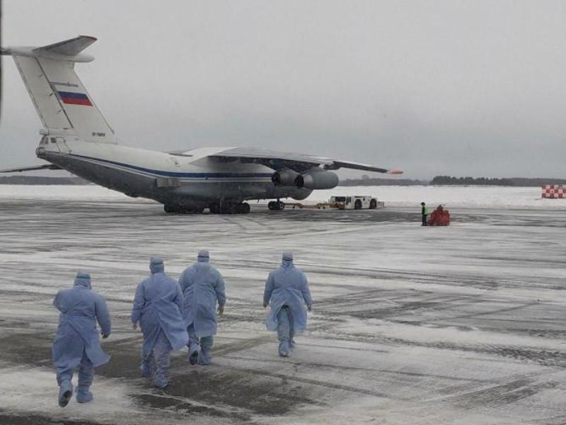 Эвакуированные из Китая граждане РФ остались в шоке от транспортировки на военно-транспортных самолетах в карантин в Тюмени