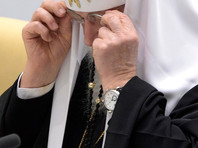 """""""Открытые медиа"""": Патриарх Кирилл носит  часы с бриллиантами за 16 тыс. долларов"""