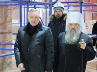 Митрополит Петербургский и Ладожский Варсонофий и губернатор Санкт-Петербурга Александр Беглов, январь 2019 года