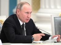 Президент РФ Владимир Путин подпишет документ 18 марта, в день присоединения Крыма к России