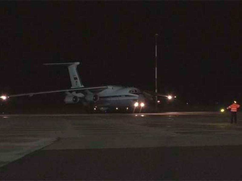 9 самолетов с военными вирусологами России прибыли в Италию