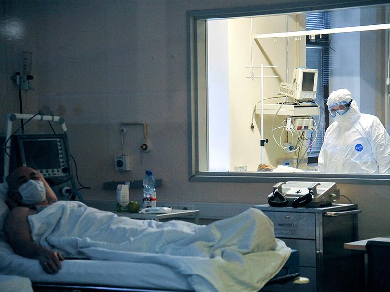 Москва, НИИ Скорой помощи имени Склифосовского, пациент с подозрением на коронавирусную инфекцию, 27 марта 2020 года