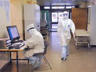 Корпус НИИ Скорой помощи имени Склифосовского для пациентов с подозрением на коронавирусную инфекцию, 25 марта 2020 года