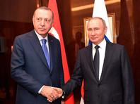 В Кремле подтвердили переговоры Путина и Эрдогана в Москве 5 марта