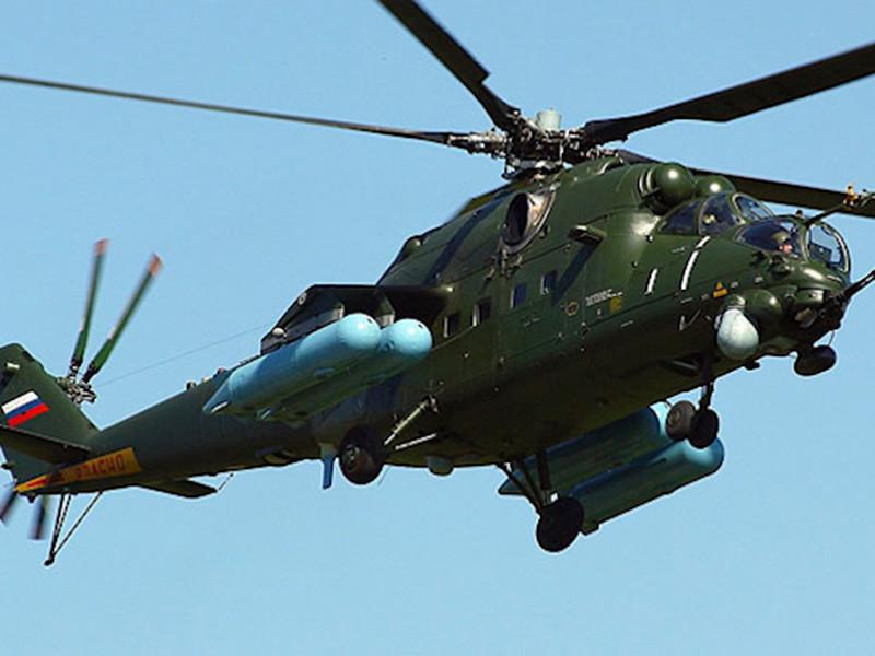 В Чите вертолет Минобороны Ми-35М случайно выстрелил по жилому дому, в результате чего оказались повреждены балкон, остекление и межэтажное перекрытие
