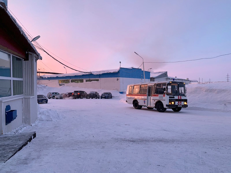 """В Коми, на шахте """"Воркутинская"""", произошел выброс метана, в результате происшествия погибли два человека"""