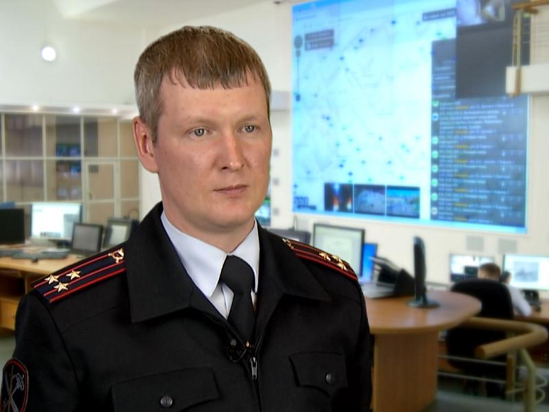 Начальник управления информации и общественных связей столичного главка МВД Владимир Васенин