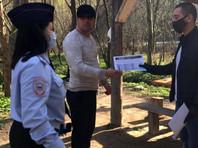 В Северной Осетии полицейские Пригородного района разъясняют гражданам ответственность за невыполнение режима самоизоляции