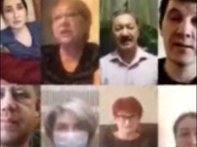 В Уфе сотрудники республиканской клинической больницы имени Куватова записали видеообращение с жалобами на условия введенного карантина