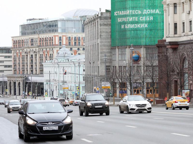 На дорогах Москвы увеличилось количество личных машин