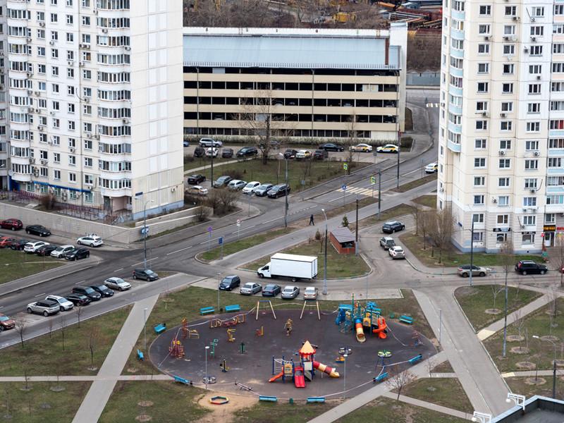 Москва после введения ограничительных мер из-за эпидемии коронавируса