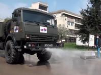 Россия отправит военных из Крыма в Абхазию, чтобы помочь в борьбе против коронавируса