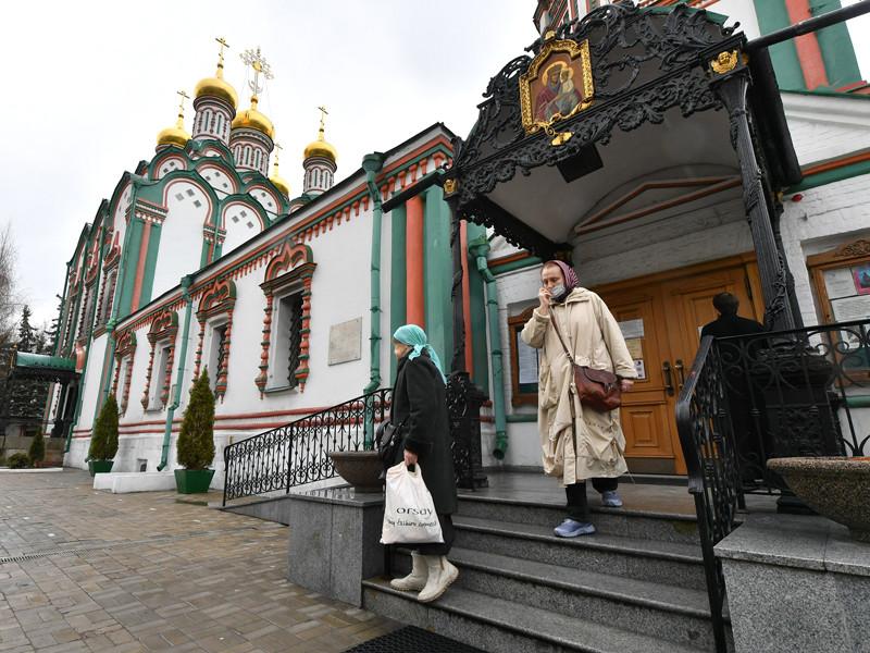 Храмы Москвы, закрытые для посещений в связи с пандемией COVID-19