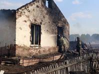 В разных районах Кузбасса сгорели десятки домов из-за пала травы
