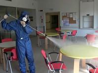 Дезинфекция российскими военными специалистами лечебных учреждений провинции Брешиа, апрель 2020 года