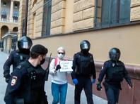 На Петровке, 38 в Москве продолжились пикеты в поддержку Ильи Азара и задержания (ФОТО)