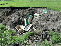 В Башкирии гробы после мусульманских похорон выбрасывали в овраг (ФОТО)