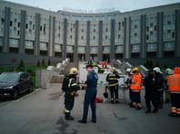 Пять подключенных к ИВЛ пациентов погибли при пожаре в петербургской больнице для больных коронавирусом (ВИДЕО)