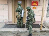 Более чем у 3,3 тыс. российских военных, курсантов и сотрудников Минобороны  выявлен коронавирус