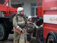 Возгорание произошло на шестом этаже, огонь охватил площадь в 10 квадратных метров