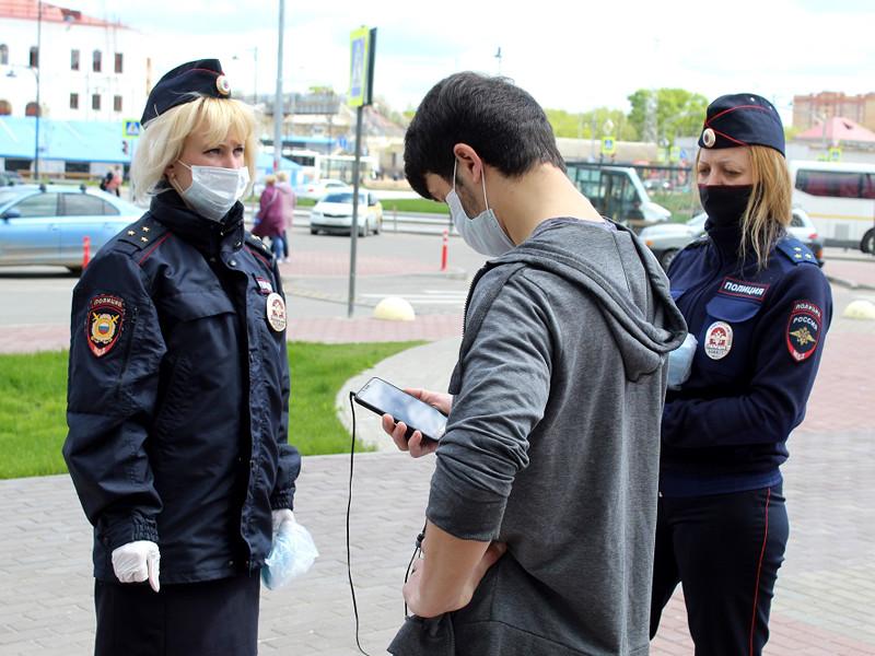 Серпухов, профилактические беседы с жителями округа, 20 мая 2020 года