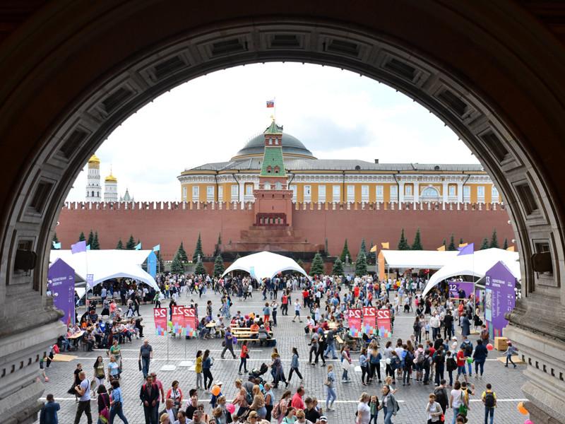 """Книжный фестиваль """"Красная площадь"""", июнь 2019 года"""