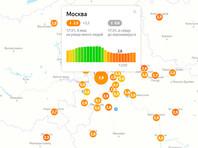 В Москве дневной индекс самоизоляции впервые опустился до 2,6