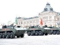 Парад Победы на Красной площади, 9 мая 2019 года