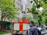 В Москве в жилом доме произошел взрыв