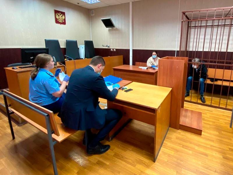 Михаил Ефремов в Таганском районном суде, 9 июня 2020 года