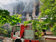В Москве произошел взрыв в жилом доме, сгорело несколько квартир (ВИДЕО)