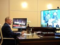 Владимир Путин провел совещание о принимаемых мерах по ликвидации разлива дизельного топлива в Красноярском крае