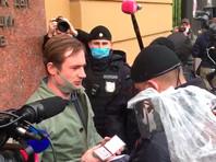 В Москве вновь начались задержания на пикетах в поддержку Ильи Азара