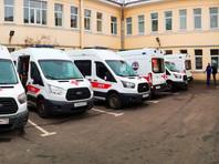 Петербургская скорая пытается справиться без 20% заболевших сотрудников