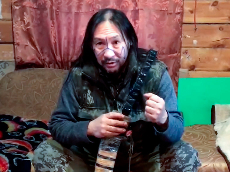 Суд решил принудительно госпитализировать шамана Александра Габышева