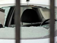 Отстраненный от парада Победы солдат разбил стекла в машине ФСО на Красной площади