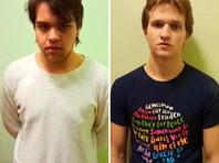 Полиция заставила двух петербуржцев извиниться на камеру за надпись на служебной машине