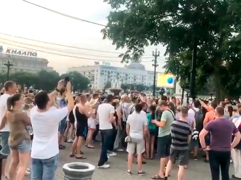 Хабаровск, 19 июля 2020 года