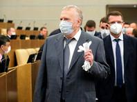 Владимир Жириновский на пленарном заседании Госдумы, 9 июля 2020 года