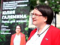 К муниципальному депутату Юлии Галяминой приехали с обысками на дачу