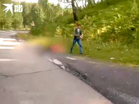 В Челябинской области мужчина зарезал жену в машине на глазах у детей (ВИДЕО)