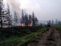 В шести районах Якутии сложилась  сложная обстановка из-за пожаров